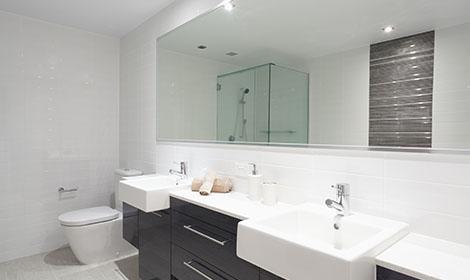 Badkamer na verbouwen door ons team
